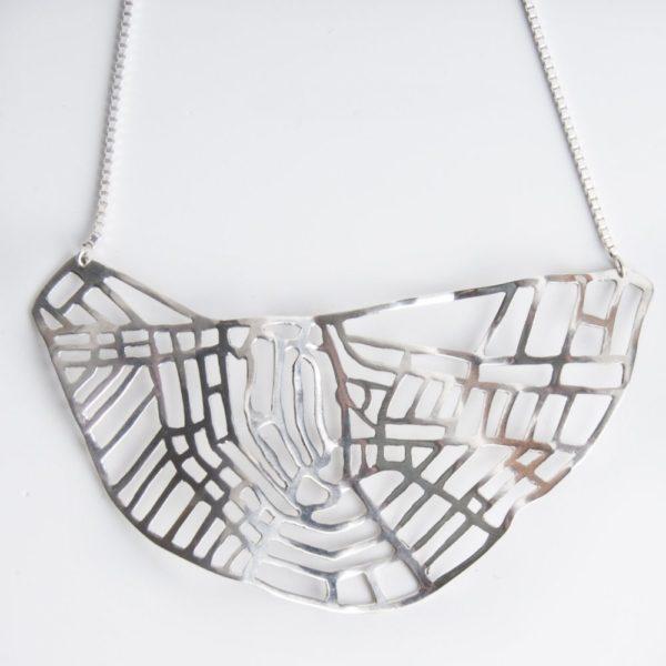 Amsterdam silver pendant